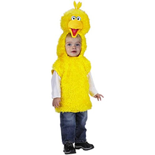 Child's Sesame Street Big Bird Costume (Size:Small 4-6) ()