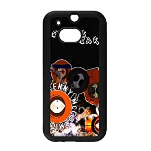 Classic Animate Film&South Park Background Case Cover for HTC One M8 - Hard PC Back&4 sides TPU Protective Case Shell-Perfect as gift