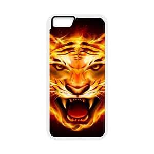 Iphone 6 Flame Phone Back Case Custom Art Print Design Hard Shell Protection LK020024