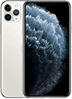 Apple iPhone 11 Pro Max (256GB, Silver) [Carrier Locked] + Carrier Subscription [Cricket Wireless] ($10/Month Amazon...