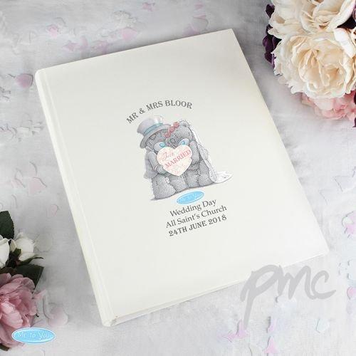 Personalisierbar Me to You Hochzeit Album mit Ärmeln