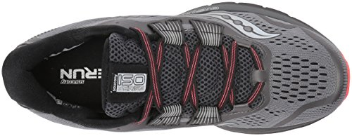 Running Coral Shoes Iso Grey Zealot Saucony 3 Women's Wq0Z8