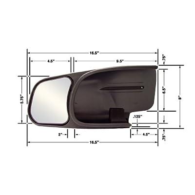 CIPA 10800 Chevrolet/GMC Custom Pair Towing Mirrors: Automotive