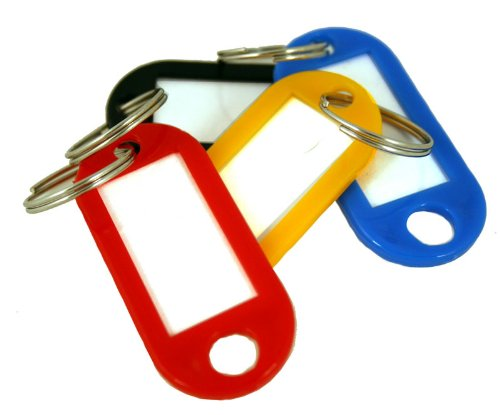 KeyGuard SL-9000 Pack of Multi-Colored Key Tags For KeyGuard Key Cabinets - 24 Pack (Key Tag That Lights)