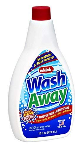 Whink Wash Away Stain Laundry, 16 Ounce - 12 per case.