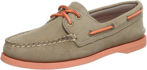 Sider Two Shoe Womens Eye Top Boat Grey Authentic Sperry Original 5wOxnX7xq