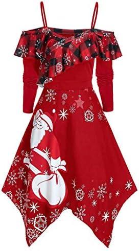 クリスマス パーティードレス wileqep ワンピース チュニック レディース コスチューム オトナ 着痩せ 膝丈 エレガンス バレンタインデー 披露宴 結婚式 フォーマルワンピースドレス 大きいサイズ プロム Christmas もい も い 衣装 仮装