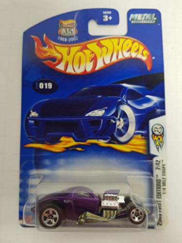 1/4 Mile Coupe 2003 First Editions 7 of 42 Hot Wheels NO. 019