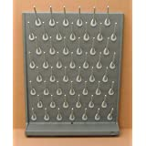SEOH Drying Laboratory Rack PP 52 Removable Pegs