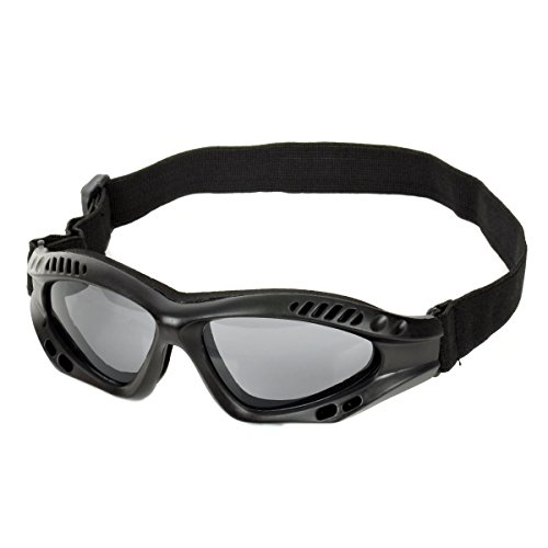 OLSUS Outdoor Tactic Sports/Exercise Protective Goggles - Black by OLSUS