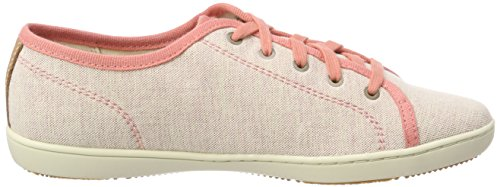 Donna K41 Stringate Rosa Canvas Timberland Oxford Scarpe crabapple Canvas Mayport With Tan Natural wXnSR