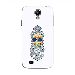 Cover It Up - Hipster Yogi Galaxy S4 Hard Case