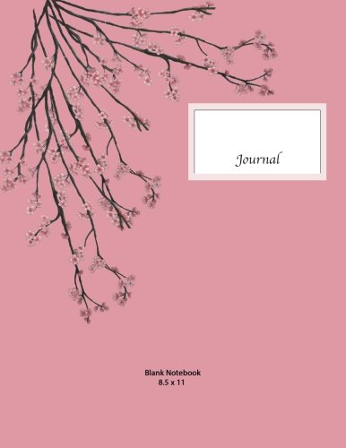 Price comparison product image Blank Notebook: Blank Notebook,  Cherry Blossom Journal,  Original Artwork,  Rose cover