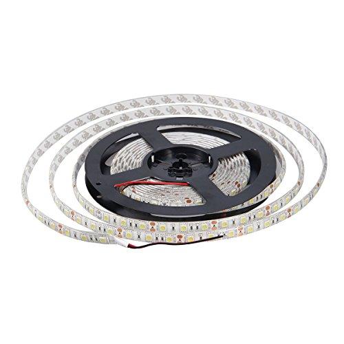 XKTTSUEERCRR Waterproof Red LED 5050 SMD 300LED 5M Flexible Light Strip 12V 60LED/M