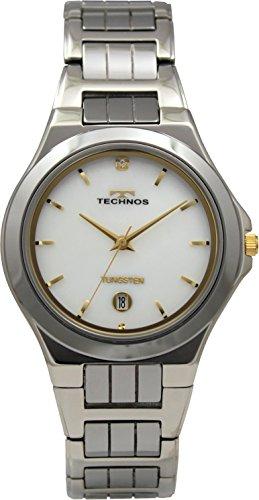 [テクノス]TECHNOS 3針 デイト タングステン T9517CM メンズ