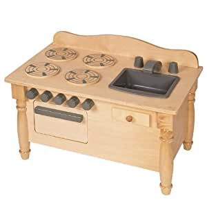 Guidecraft Doll Play Kitchen - Natural