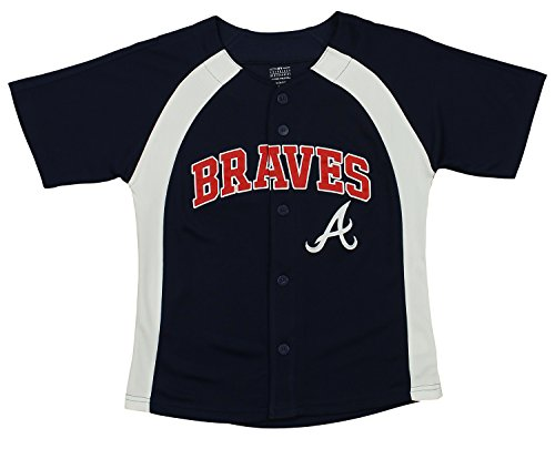 MLB Youth Boys Blank Baseball Jersey, Various Teams (Pittsburgh Pirates, Medium (10-12))
