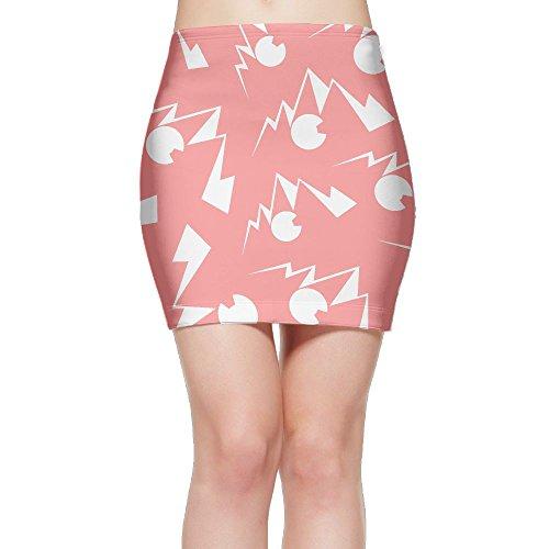 SKIRTS WWE Colorado-Mountain Women Slim Fit High Waist Mini Short Skirts by SKIRTS WWE