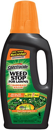 Spectracide Weed Stop For Lawns + Crabgrass Killer Concentrate, 32-oz (Nutsedge Weed Control)