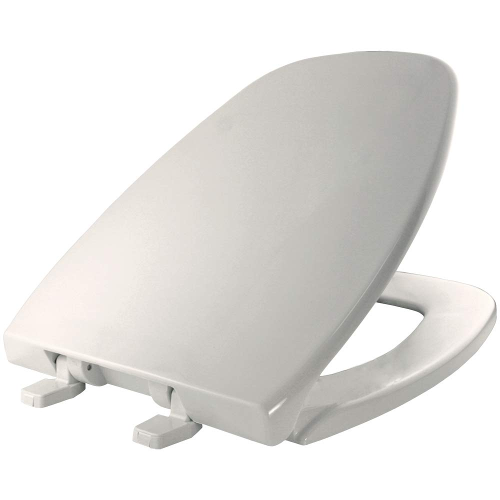 Church Seat 124-0205 000 Elongated Closed Front Toilet Seat in White