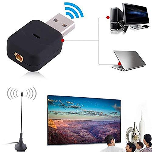 9OVE, HDTV Tuner Receiver Stick, Mini USB2.0 Digital DVB-T SDR+DAB+FM Video Broadcast (800 Mhz Video Memory)