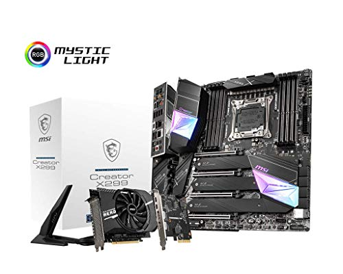 MSI Creator Intel X299 LGA 2066 ATX DDR4-SDRAM Motherboard