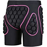 3D Padded Protective Shorts Hip Butt EVA Pad Short Pants Heavy Duty Gear Guard