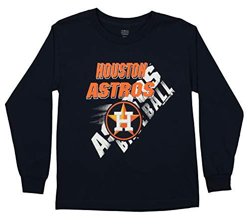 - Outerstuff MLB Youth's Long Sleeve Baseball Tee, Houston Astros X-Large (18)