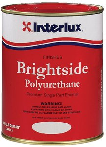 Red Polyurethane - Interlux Y4248/QT Brightside Polyurethane Paint (Fire Red), 32. Fluid_Ounces