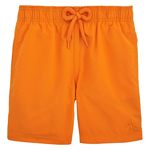 Vilebrequin Water-reactive Danse du feu Swim Shorts - Boys - papaya - 2Yrs by Vilebrequin