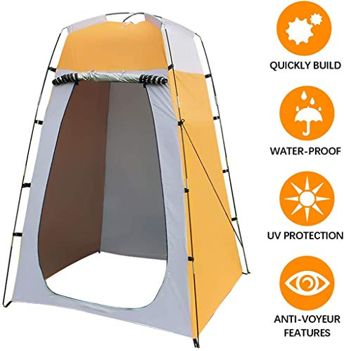 LHY Privacy Tent Shower Tent, Portable Outdoor Dressing Tent, Pop-up Tent, Waterproof Toilet Tents 120 * 120 * 180 CM…