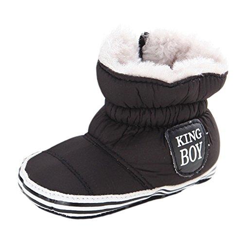 leap frog  Snow Boots,  Baby, Jungen Schneestiefel Schwarz