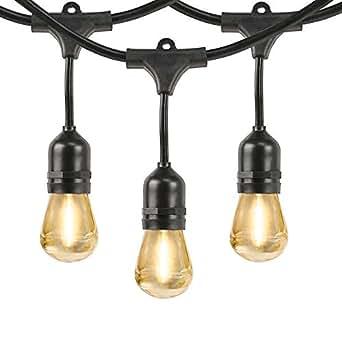 Feit 48 Led Filament String Light Set Amazon Com