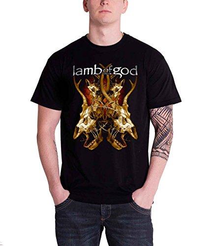 Lamb Of God Tangled Bones Official Mens New Black T Shirt