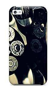 Premium Revolver Heavy-duty Protection Case For Iphone 5c