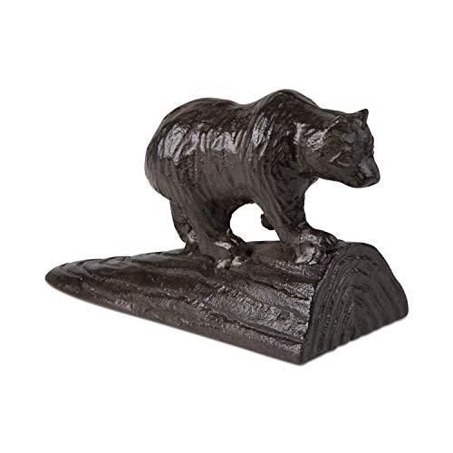 TAG Bear Doorstop, Antique Bronze (208641) by Tag