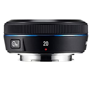 Samsung 20mm NX Pancake lens for NX Series Cameras