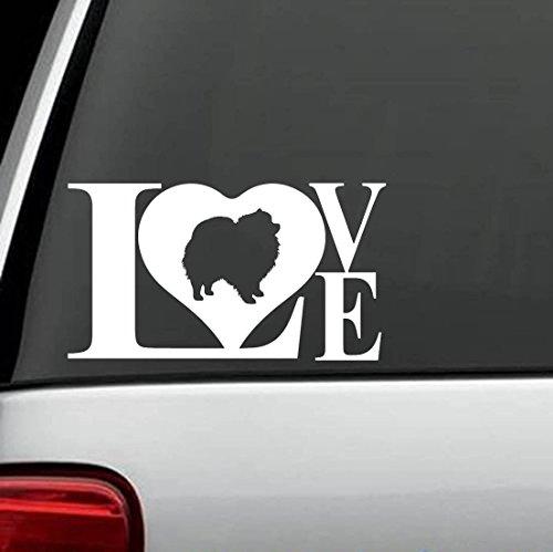 Pomeranian Pom Love Dog Decal Sticker Pomeranian Baseball
