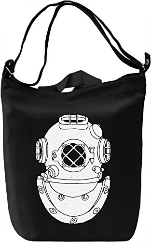 Diving suit Borsa Giornaliera Canvas Canvas Day Bag| 100% Premium Cotton Canvas| DTG Printing|