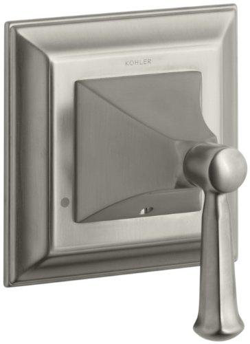 KOHLER K-T10424-4S-BN Memoirs Transfer Valve Trim with Stately Design, Vibrant Brushed Nickel Bn Memoirs Single