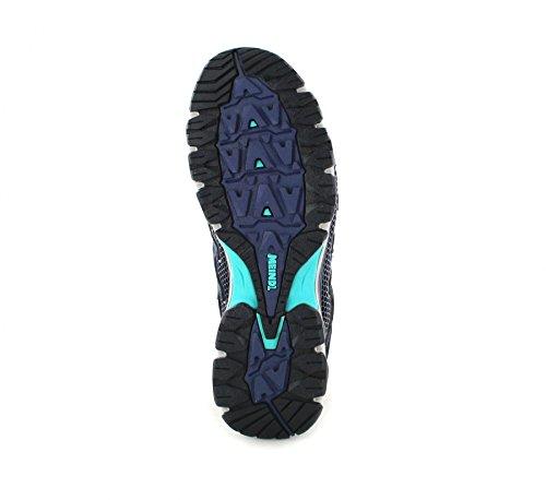 Meindl X-So 70 Lady Mid GTX - Zapatillas de Senderismo de Piel Para Mujer Azul Marine/Türkis Marine/Türkis