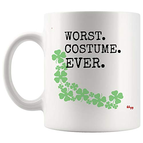 Hilarious Best Friend Mug Coffee Cup - Birthday Gifts Hilarious Worst Costume Ever Halloween Quote Fun Gift Joke Novelty Gifts for Friend