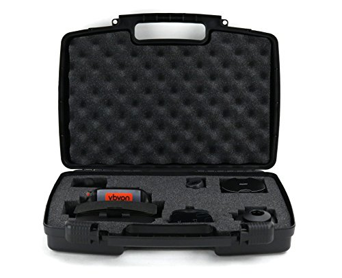 Hard Storage Carrying Case For GPS Navigation Systems - Stores Navdy Augmented Reality GPS Navigation System Safely In Protective Foam- (Runner Tm Extension Cable)
