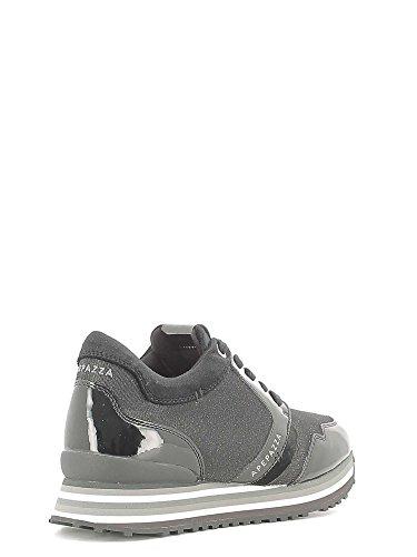 Interna Metal Camoscio Apepazza Rihanna Sneaker RSD01 Vernice Zeppa Nero Fabric 5Bq8wUqxY