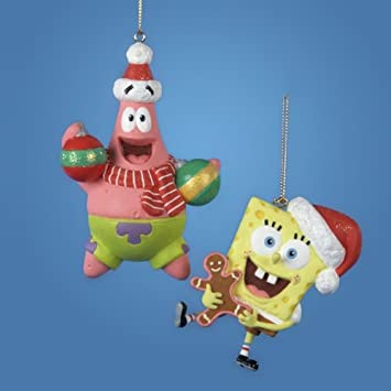 "4"" Nickelodeon Patrick Star from Spongebob Squarepants Christmas  Ornament - Amazon.com: 4"