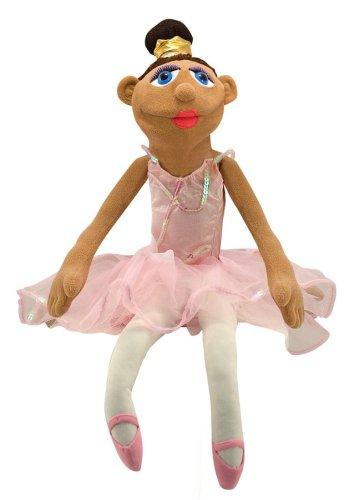 Melissa & Doug - 13895 - Ballerina Puppet Ballerina Hand Puppet