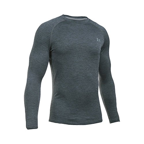 Under Armour Men's UA 2.0 Crew Neck Base Layer Shirt  - Xx-Large - Lead/Steel