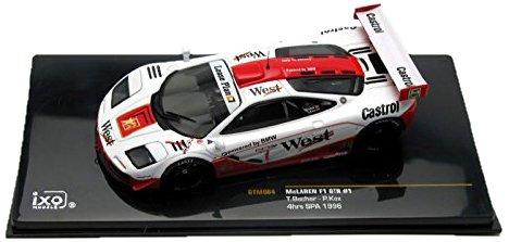 1/43 マクラーレンF1GTR(WEST) 1996年スパ4時間耐久レース#1 ドライバー:T.Bscher/P.Kox GTM084