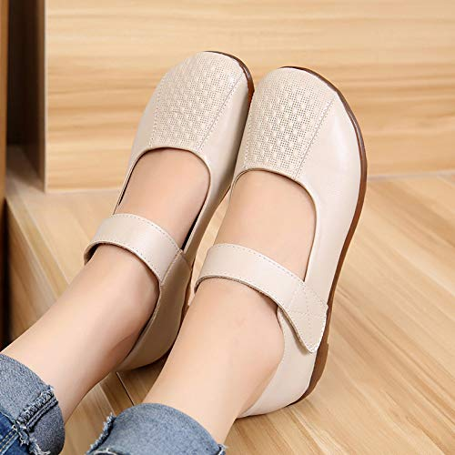 Spring single casual red flat leather shoes FLYRCX comfortable shoes soft fashion bottom autumn and 6IwP4d