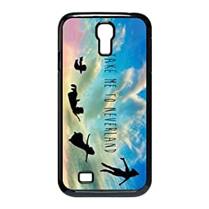 samsung s4 9500 case , Peter Pan samsung s4 9500 Cell phone case Black-YYTFG-23121